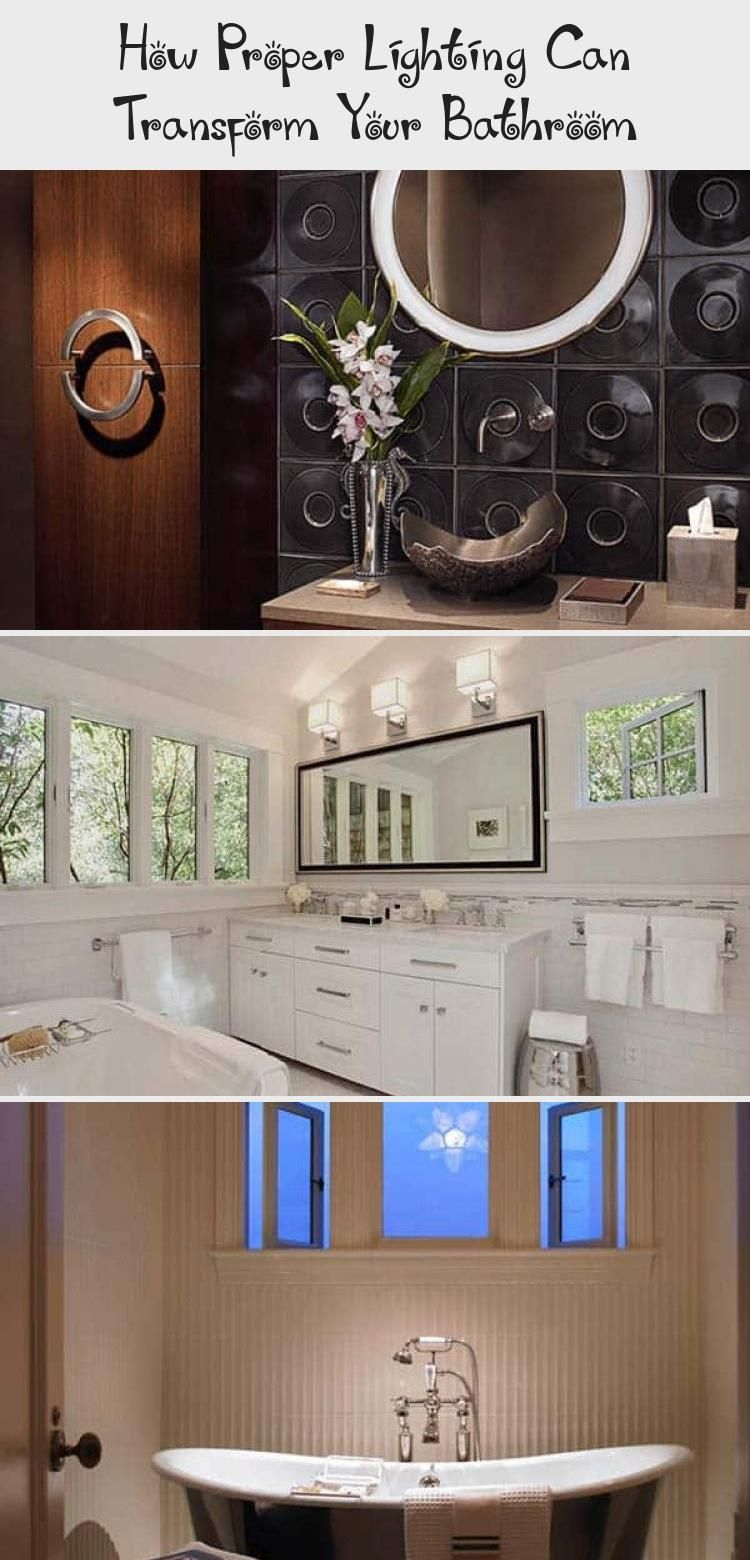Lighting Can Transform Your Bathroom