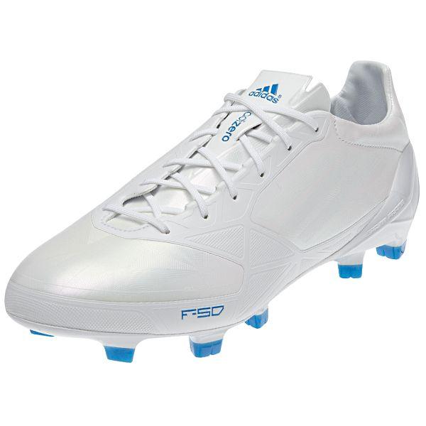 02d2f70ecda3 adidas F50 adizero TRX FG Soccer Shoe (Synthetic) [G61872] Running White/Running  White/Bright Blue - $139.99 Save: 30% OFF