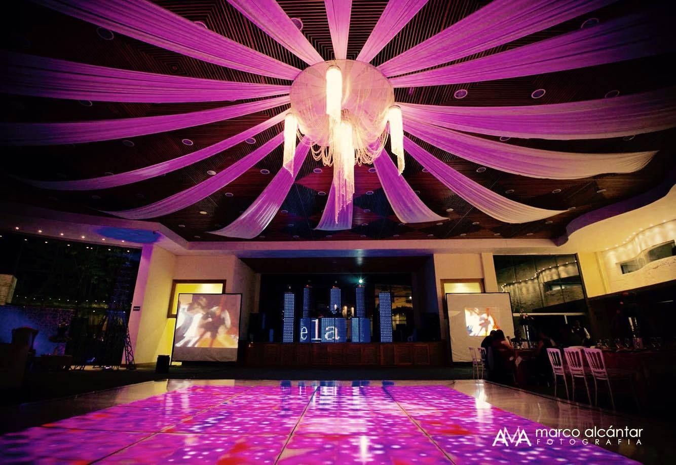 decoracion de salones para fiestas pistas de baile de leds en acrilico diseo xpoo music