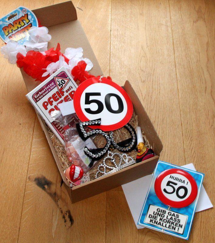 Schone Ideen Lustige Geschenke Zum 50 Geburtstag Selber Machen Und
