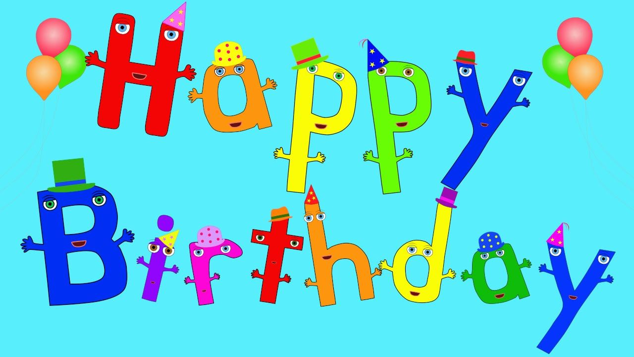 The Happy Birthday Song Birthday songs, Happy birthday