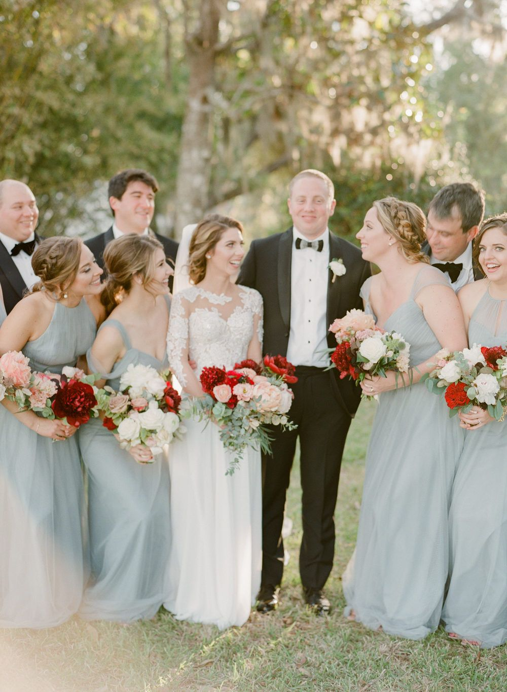 This is how to keep blush looking fresh bridesmaid style