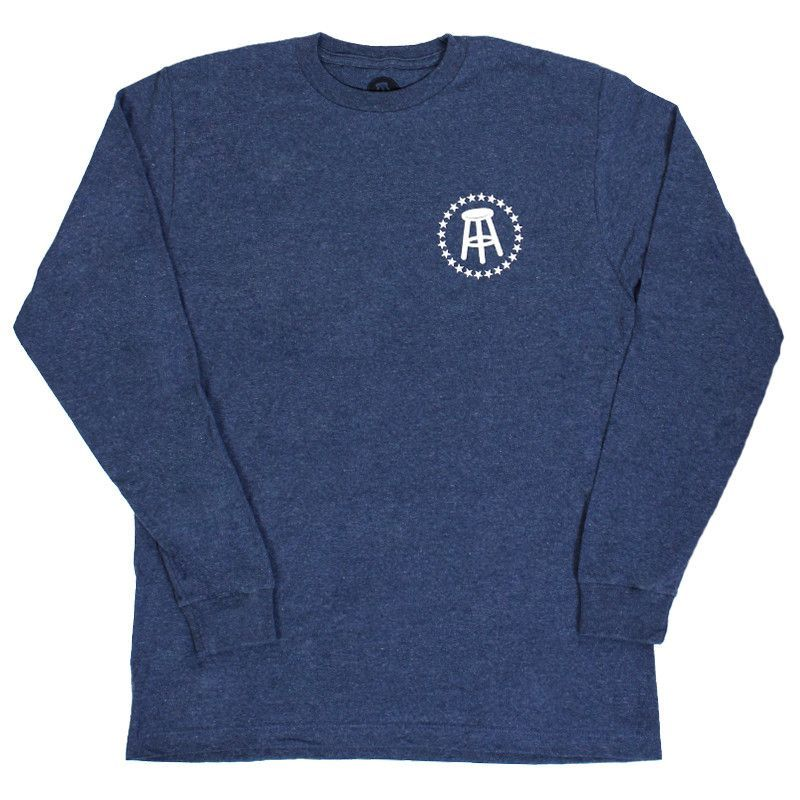 Stool / Star Long Sleeve Tee (Navy) Clothes, Long sleeve