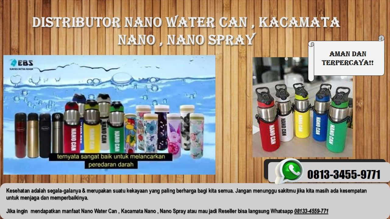 Terlaris Wa 6281 334 559 771 Distributor Resmi Sidoarjo Original Agen Resmi Produk Nano Ebs Di 2020 Minuman Botol Minum Kacamata