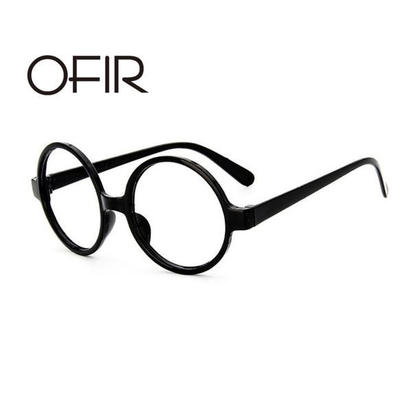 832b6e5aac OFIR Classic Retro Round Glasses Women Frame Ala Lei Cute Glasses Frame Men Harry  Potter Glasses Without Lenses A3-27
