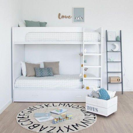 City Litera Dorm Brothers Pinterest Litera Dormitorio Y - Camas-dobles-infantiles-para-espacios-reducidos