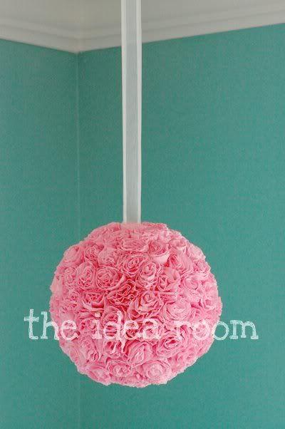 Crepe paper flower balls flower ball crepe paper and crpes crepe paper flower balls mightylinksfo