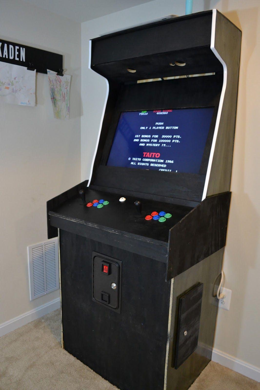 How To Build A Custom Arcade Machine Diy Arcade Cabinet Arcade