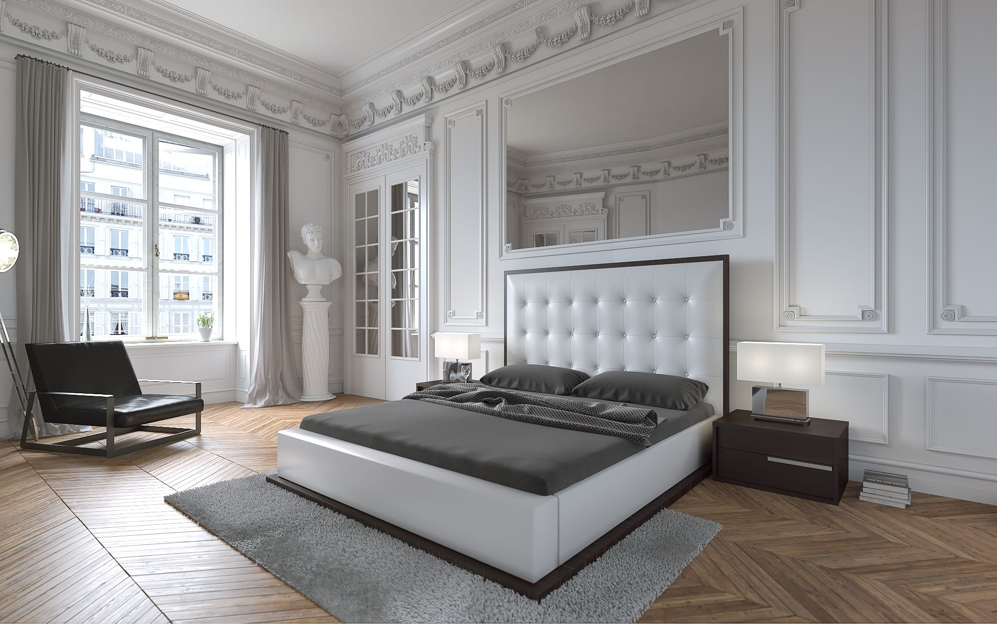 New Bedroom Furniture 2015 modani new collection. paris bedroom collection. | 2015 catalog