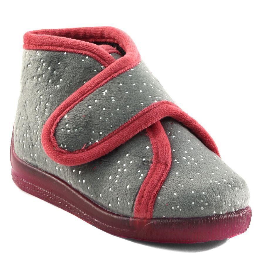 975f20dcde72e 608A BELLAMY BAFI GRIS www.ouistiti.shoes le spécialiste internet   chaussures  bébé