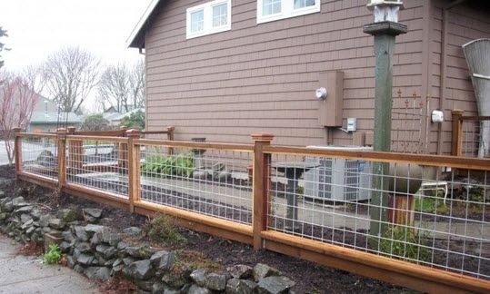 Wire Fence Styles