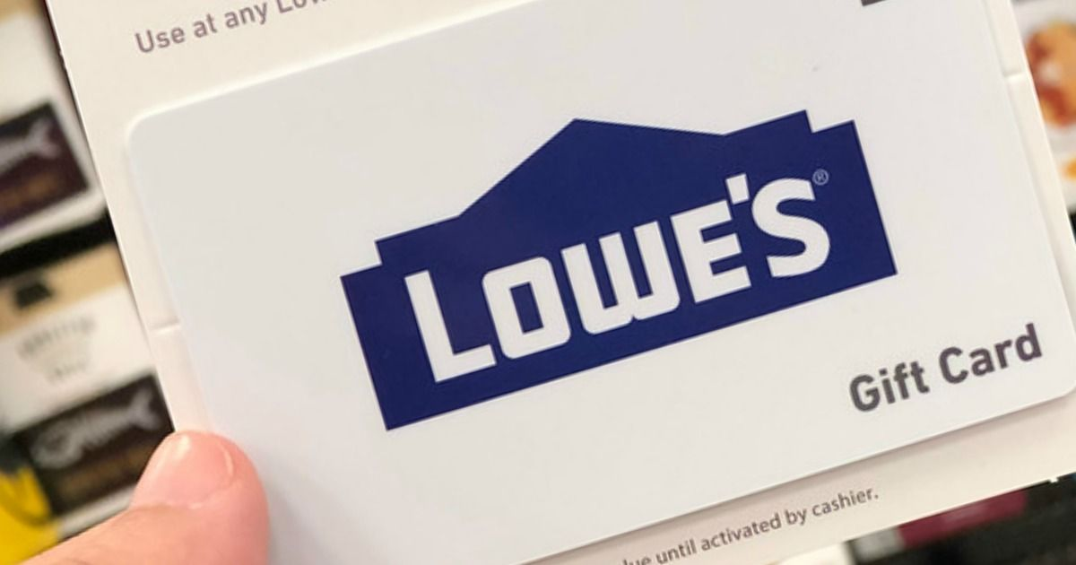 Hip2save 100 lowes gift card only 90 delivered