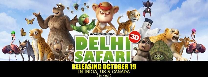 delhi safari 2012 hindi animation movie film and music movies