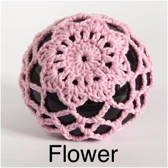 Ballet Bun Cover Hair Accessory Crochet Bun Cover Dance Hair Net