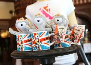 Walt Disney World: Commemorative Olympic Merchandise at the United Kingdom Pavilion in Epcot