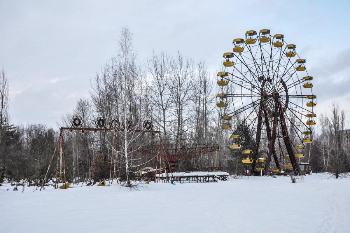 What was the site of fun and amusement nearly 30 years ago, now serves as a haunting reminder of the worst nuclear disaster in history -- an abandoned fairground still stands in Pripyat, Ukraine.