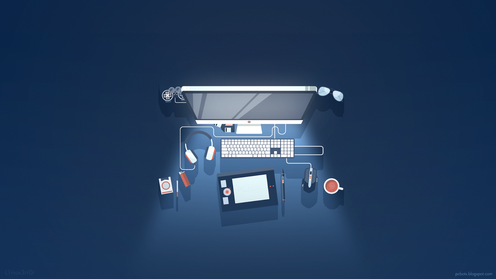 Graphic Designer Wallpaper By PCbots