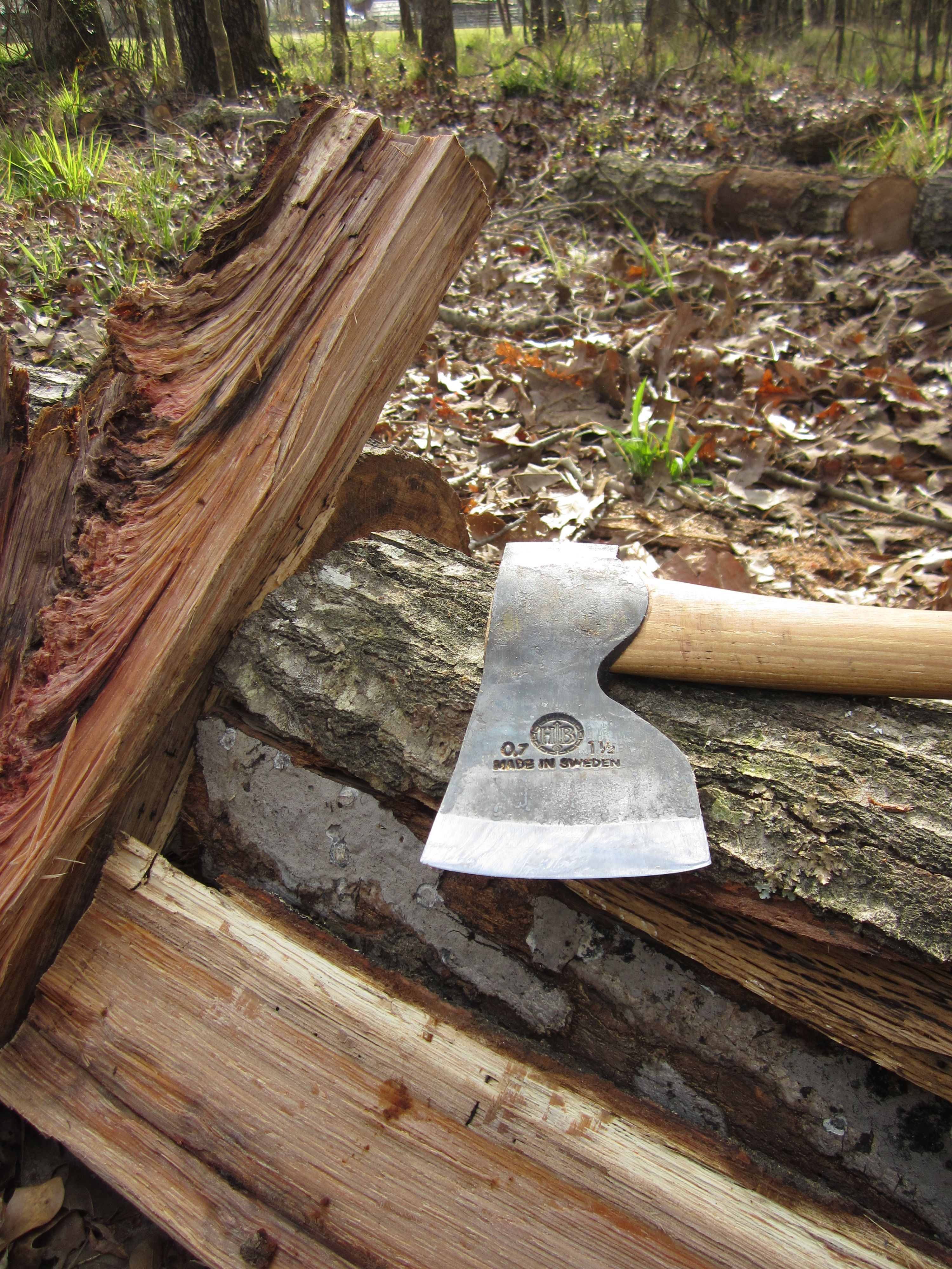 How to Sharpen an Axe Step by Step Hults Bruk Knife