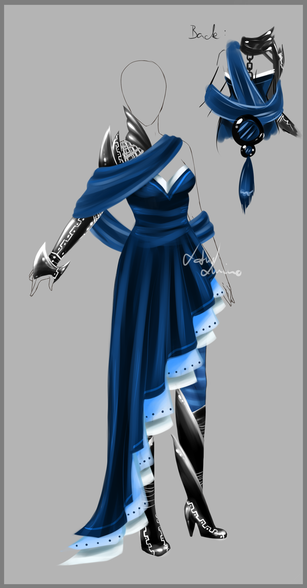 Outfit design 92 closed by LotusLumino on DeviantArt