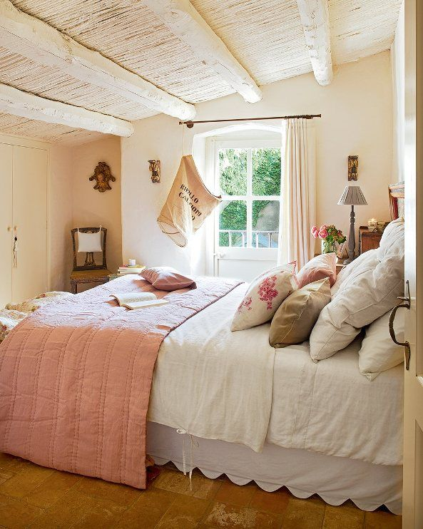 un precioso dormitorio rustico nice rustic bedrom chic u dec