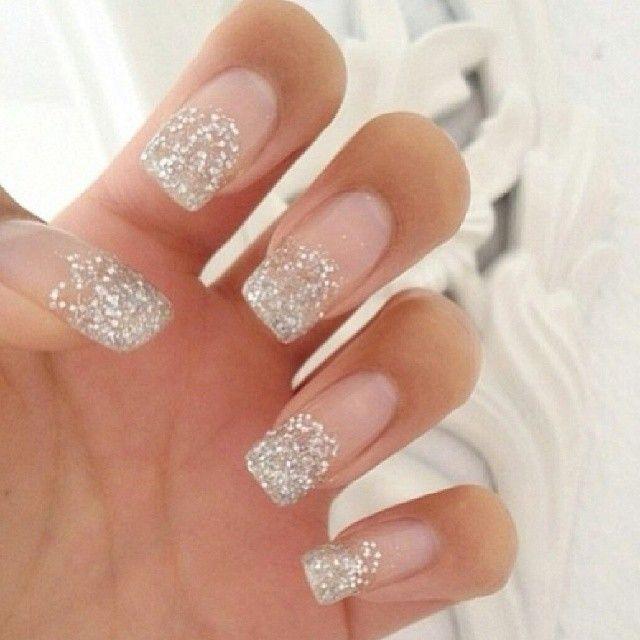 New Years Nail Ideas Glitter Nails New Years Ideas Beauty Tips