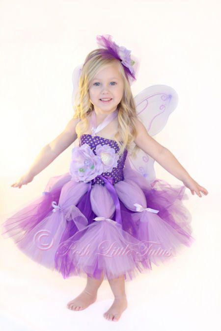Sweet Garden Fairy Enchanting Little Girls Tutu Dress Set | Girls ...