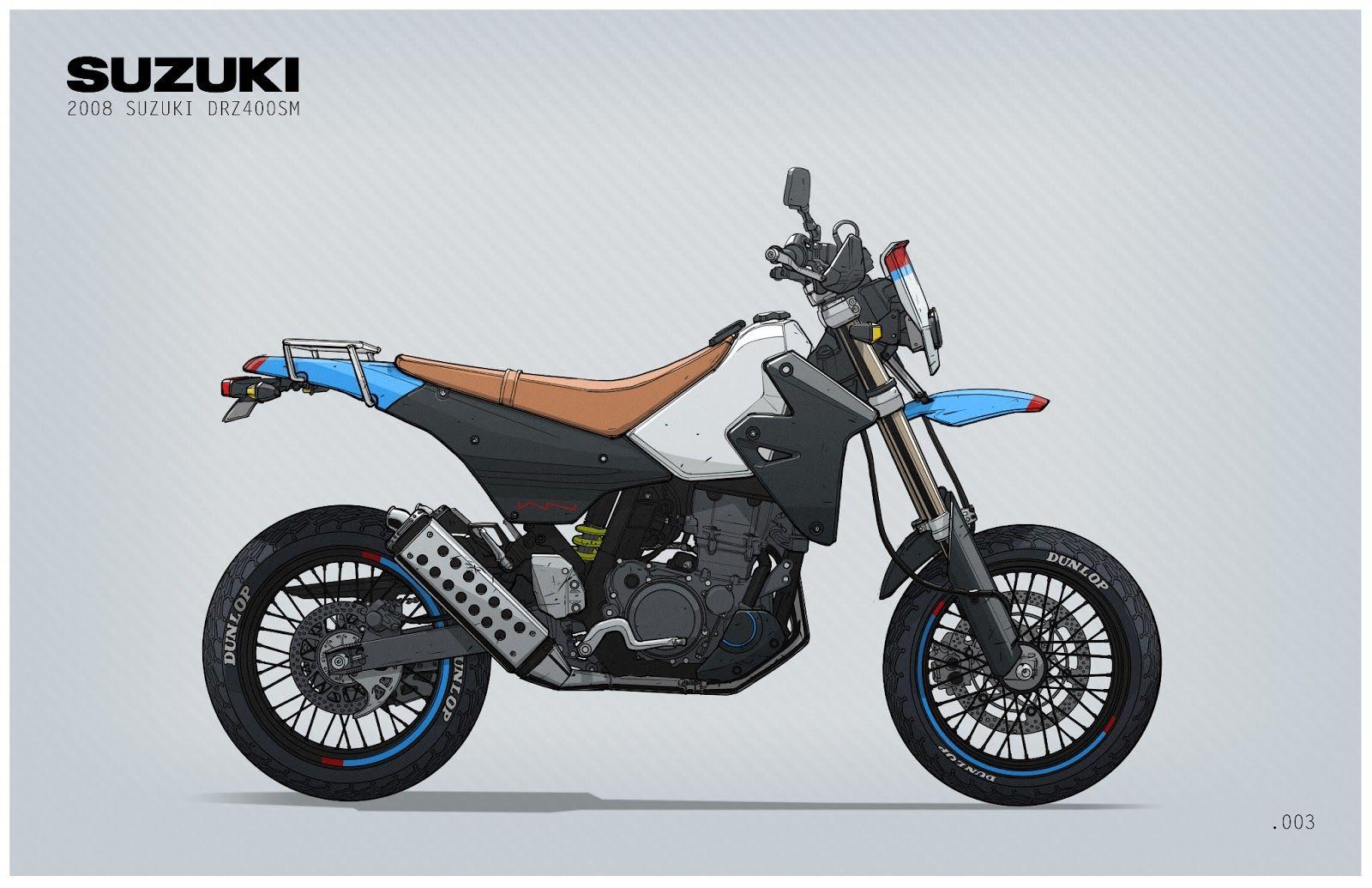 Suzuki DRZ400SM by Ian Galvin   Motorcycles & Cars   Pinterest ...