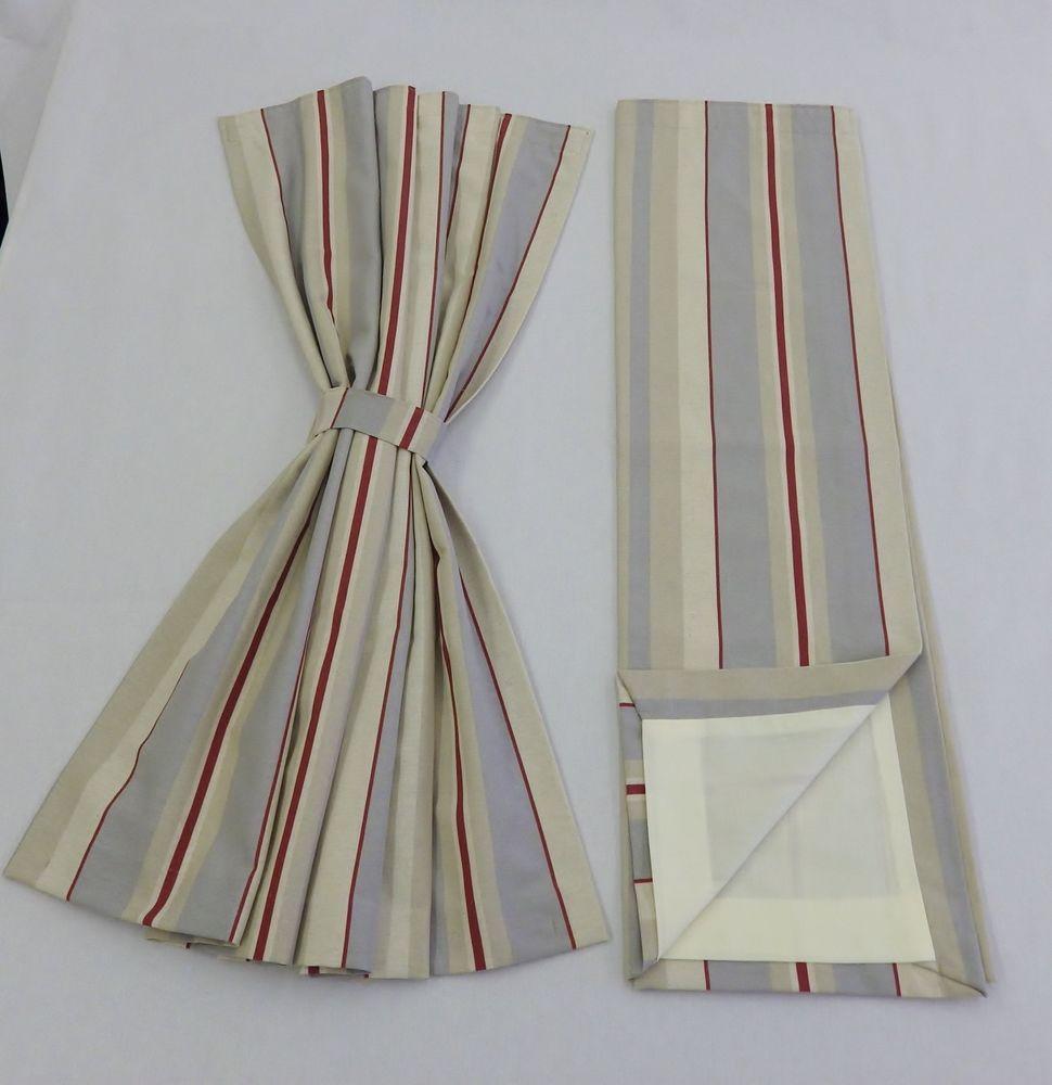 Static Caravan Wiring Diagram Library Curtains Choose Your Size Modern Stripe Curtain Pelmet Interiors