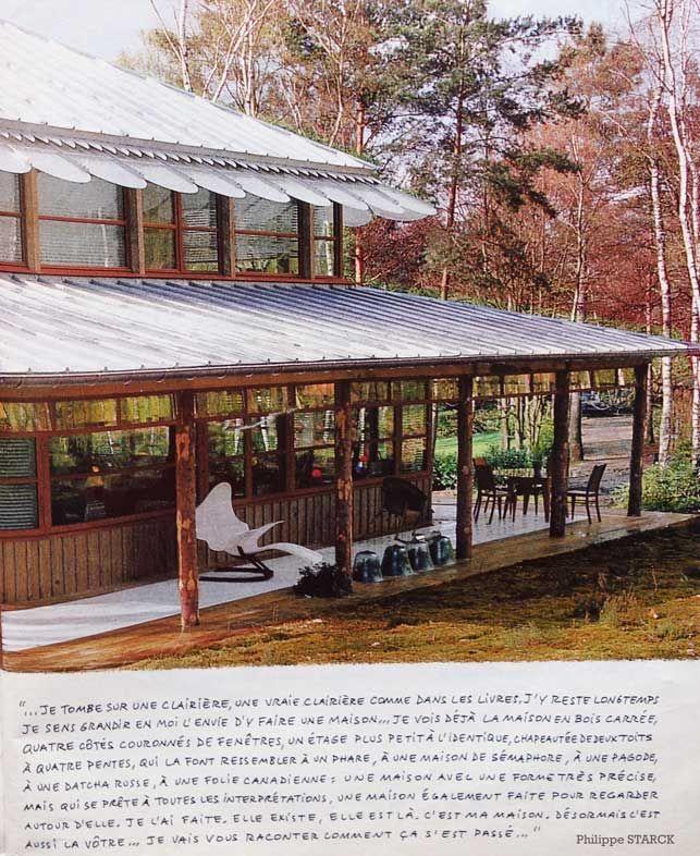 maison strack 3 suisses, starckhouse Architecture Pinterest