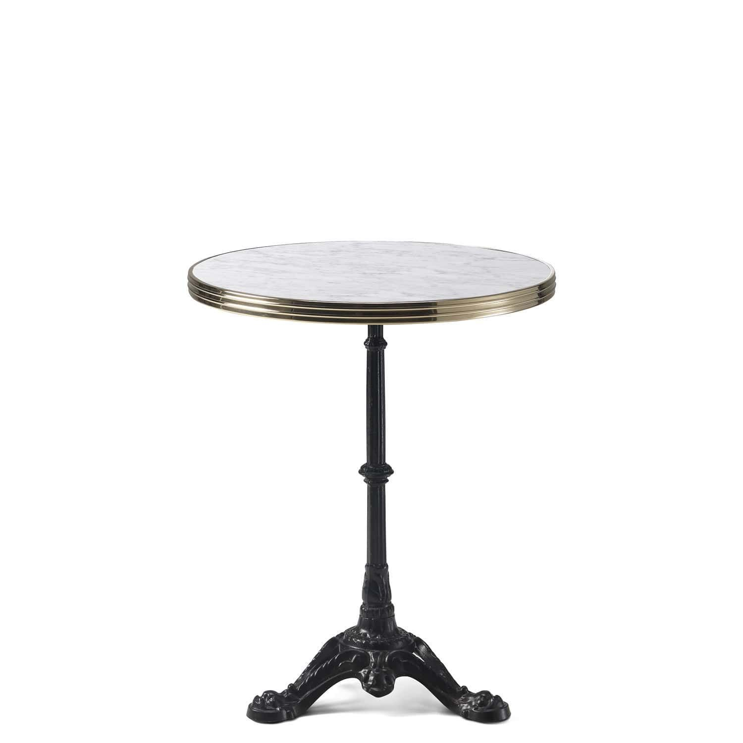 table bistrot marbre deco table