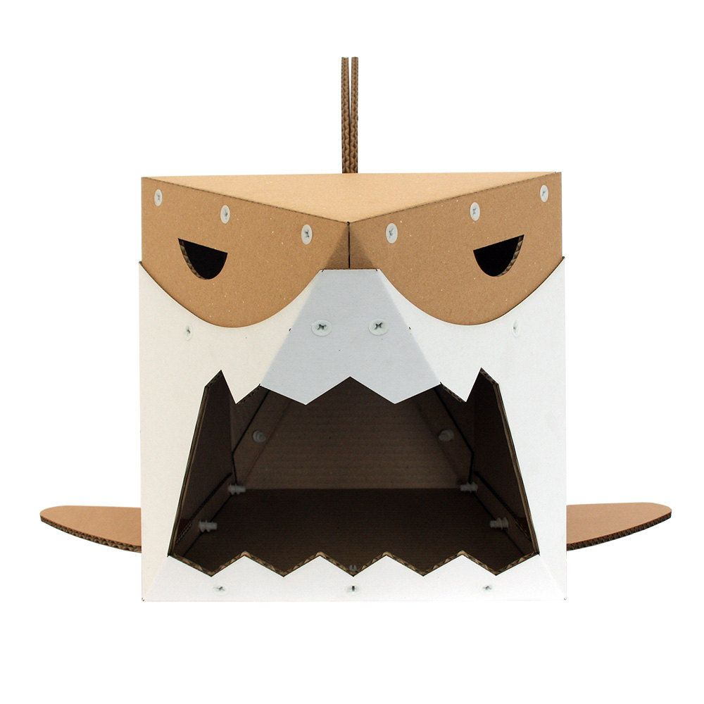 Cardboard House For Cats Starwars Imperial Stormtrooper Cardboard Cat Housecat Furniture