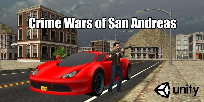 Crime Wars of San Andreas - Unity GTA Game | plugins / games