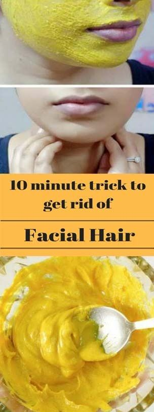 Remove Facial Hair At Home In 10 Minutes  #beautytips  #solution