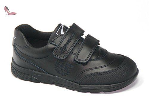 Pablosky 797910, Chaussures garçon - noir - noir, 29 EU