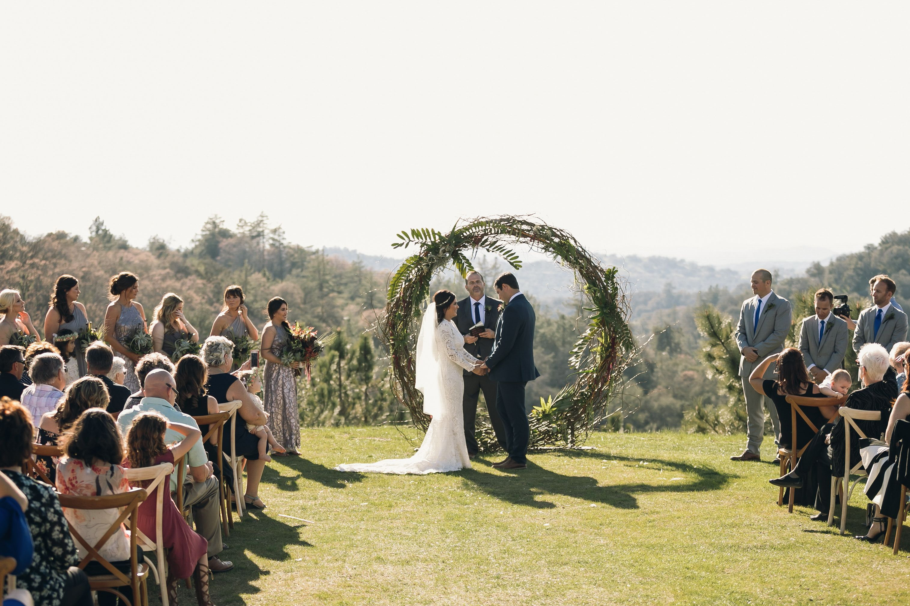 Circle c arch 1 wedding ceremony arch wedding ceremony