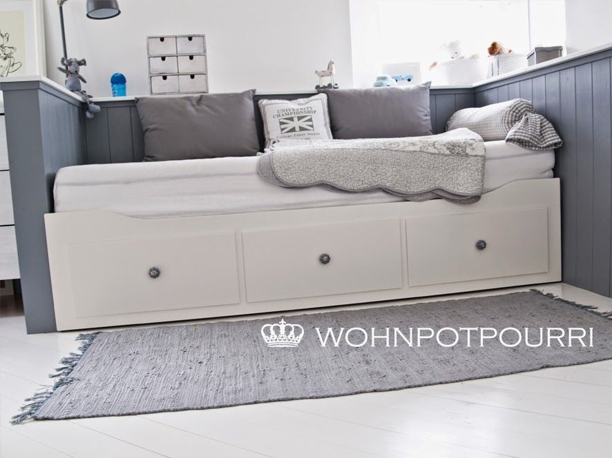 Single Schlafzimmer Einrichten Kids Room Ikea Hack By Wohnpotpourri Hemnes Daybed | Diy