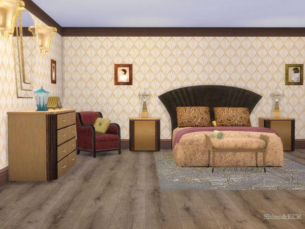 ShinoKCR's Art Deco Bedroom