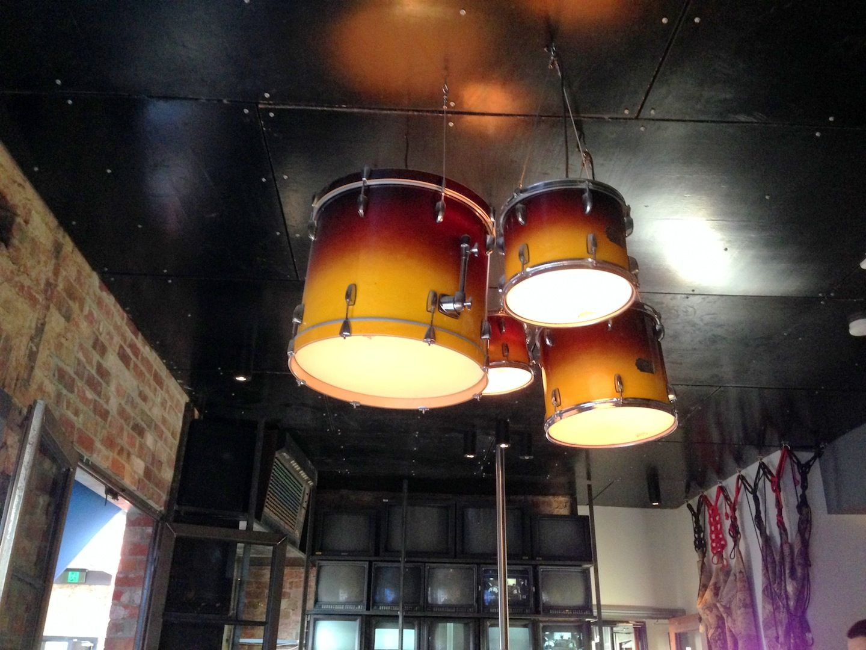 Drum lights bridge hotel richmond australia drum light