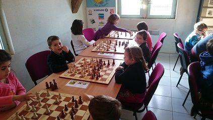 Ce samedi 14/02/2015, l'Echiquier Châlonnais a organisé un tournoi réunissant les enfants des maternelles de l'agglomération de Châlons en Champagne.