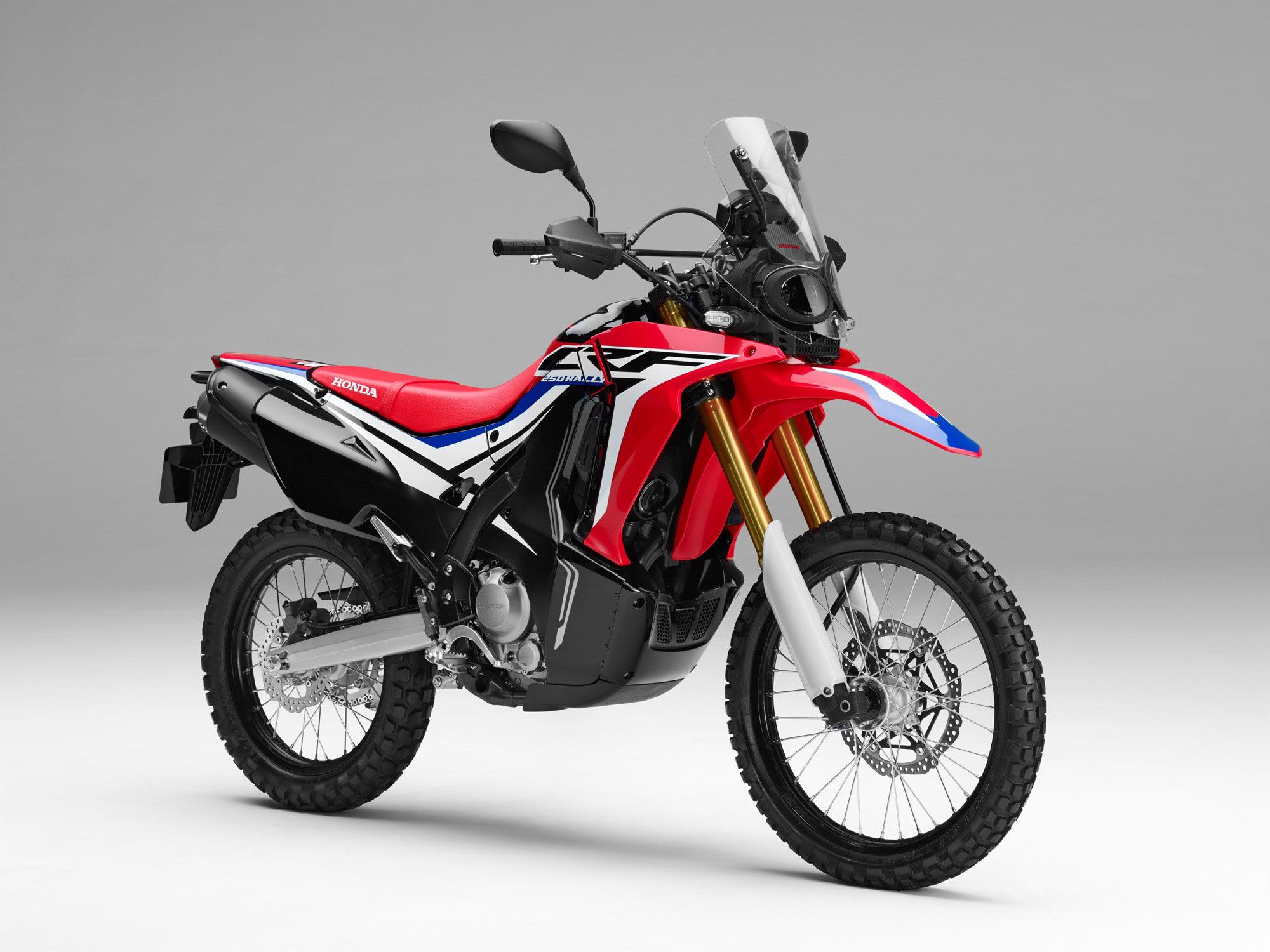 It Has Long Been Waiting For The Premiere Of New Honda Rally 2017 And Finally Presented An Easy Enduro 20 Months After