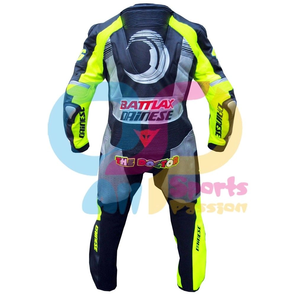 Valentino Rossi 2013 Winter Test VR 46 Racing Leather Suit