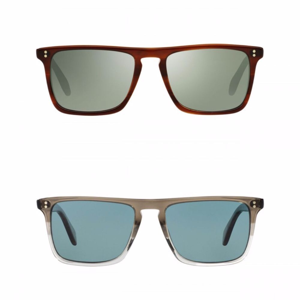 New Oliver Peoples Bernardo Vintage Grey VFX or 402 Polarized Sunglasses OV5189S