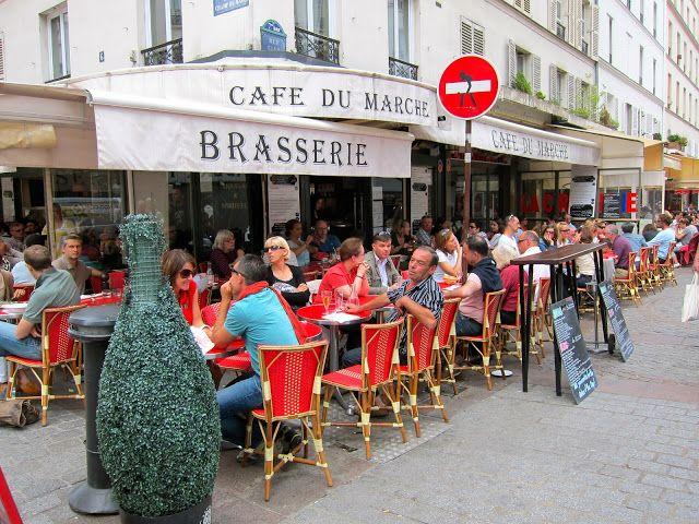 Cafe Du Marche Rue Cler Paris Adorable Delicious Brerie