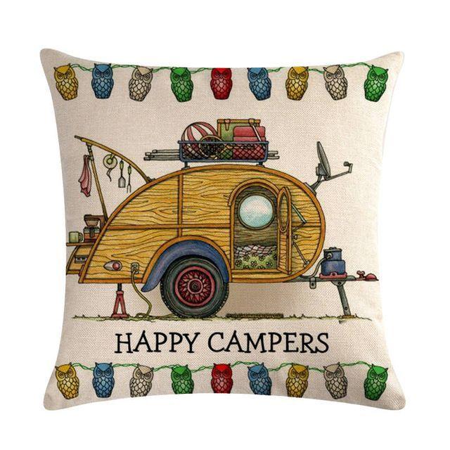 Campers Car CLP3110039P Handmade Pillowcase :  Campers Car CLP3110039P Handmade Pillowcase