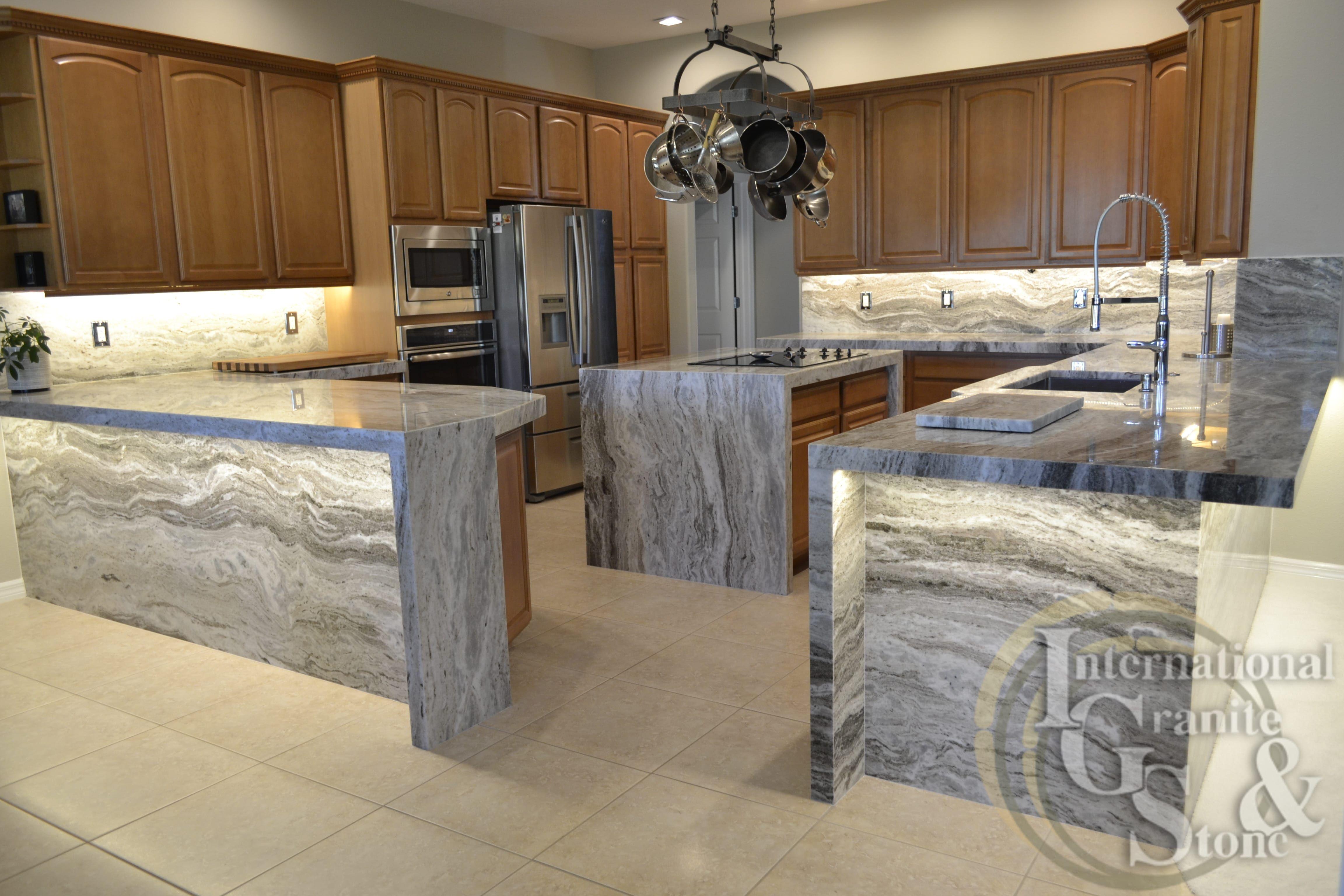 Granite Countertops Spring Hill Countertops Stone Countertops Kitchen Black Marble Countertops