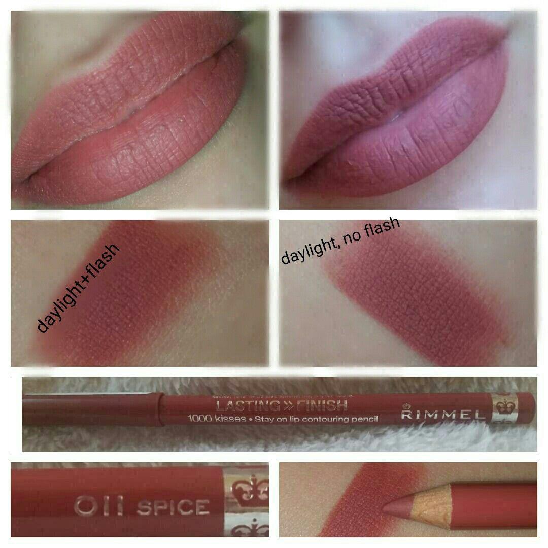 Rimmel Lasting Finish 1000 Kisses 011 Spice Makeup To Buy