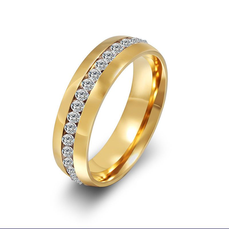 to Buy Classic Womens Mens Stainless Steel Ring Clear