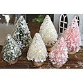 Mini Bottle Brush Christmas Trees (Pack of 6) | Overstock.com Shopping - The Best Deals on Other Embellishments