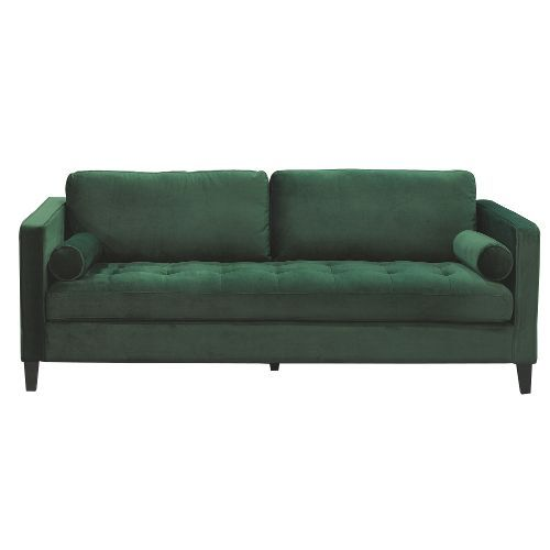 Magnolia Homeu0027s Dapper Collection Is The Perfect Mix Of Art Deco  Inspiration And Modern Appeal With Its Emerald Color Velvet Fabric, Thick  Tufted Bench Seat ...