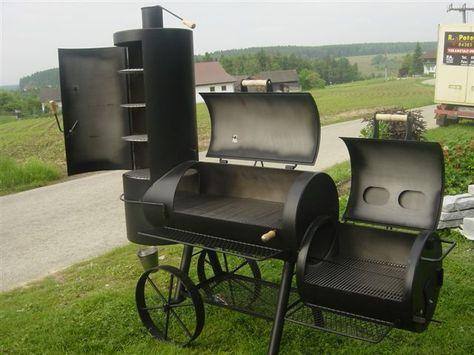 Barbecue BBQ Smoker Grill Edelstahl Temperatur Thermometer AnzeigeWZB